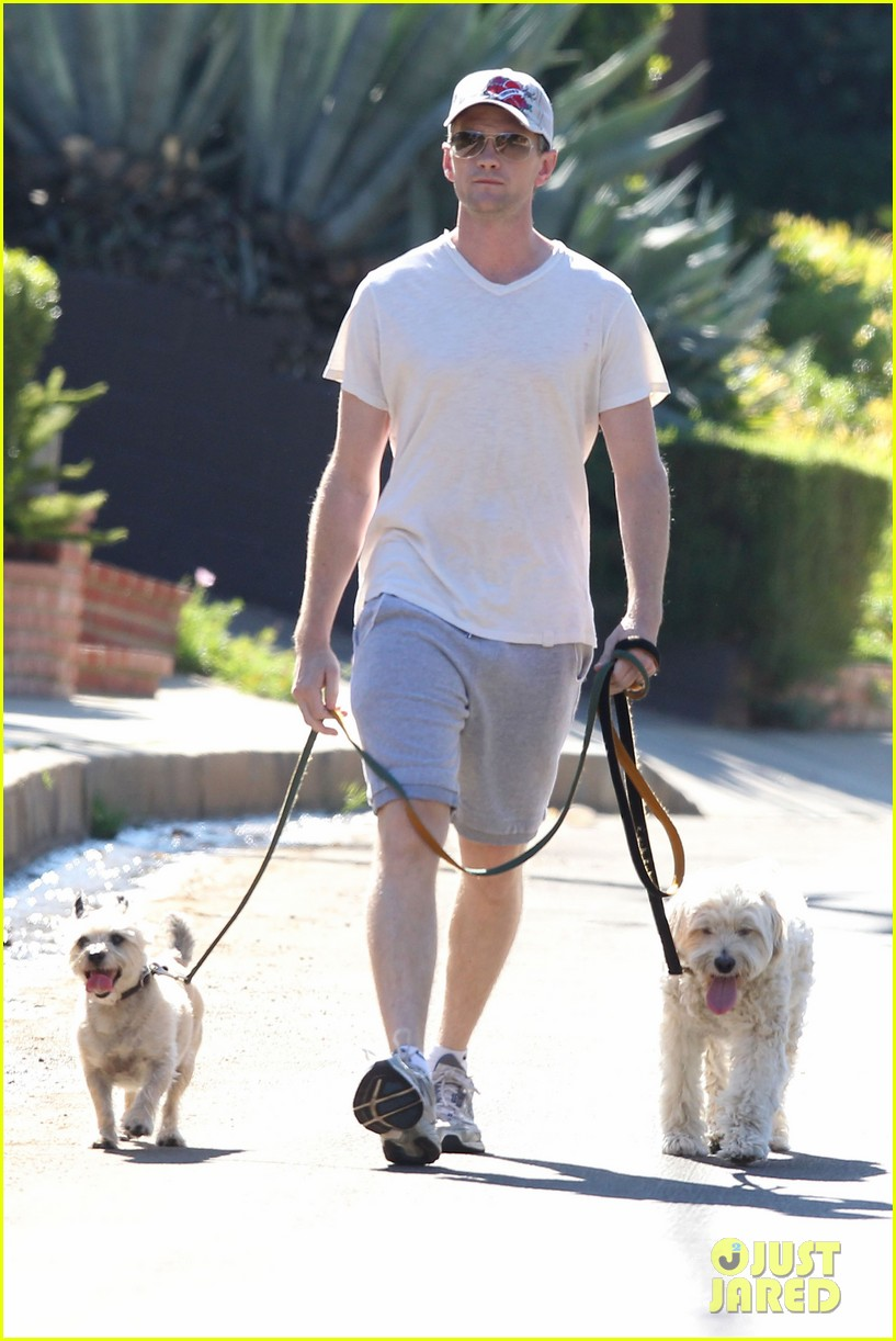 neil patrick harris dog walking 072585969