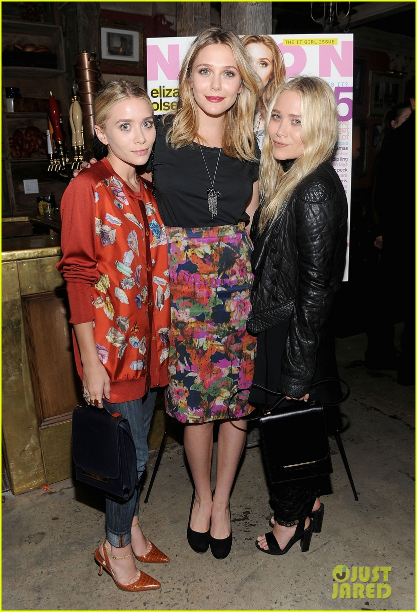 elizabeth mary kate ashley olsen nylon party 01