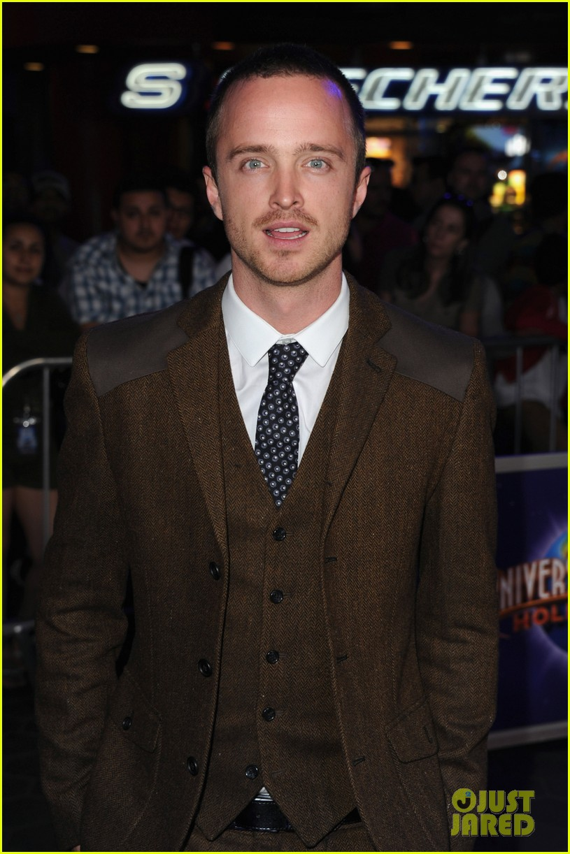 aaron paul thing premiere 01