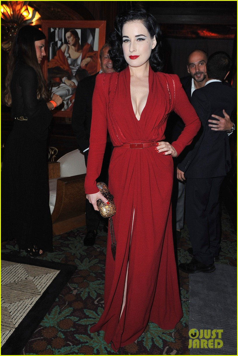 dita von teese lofficiel party 01