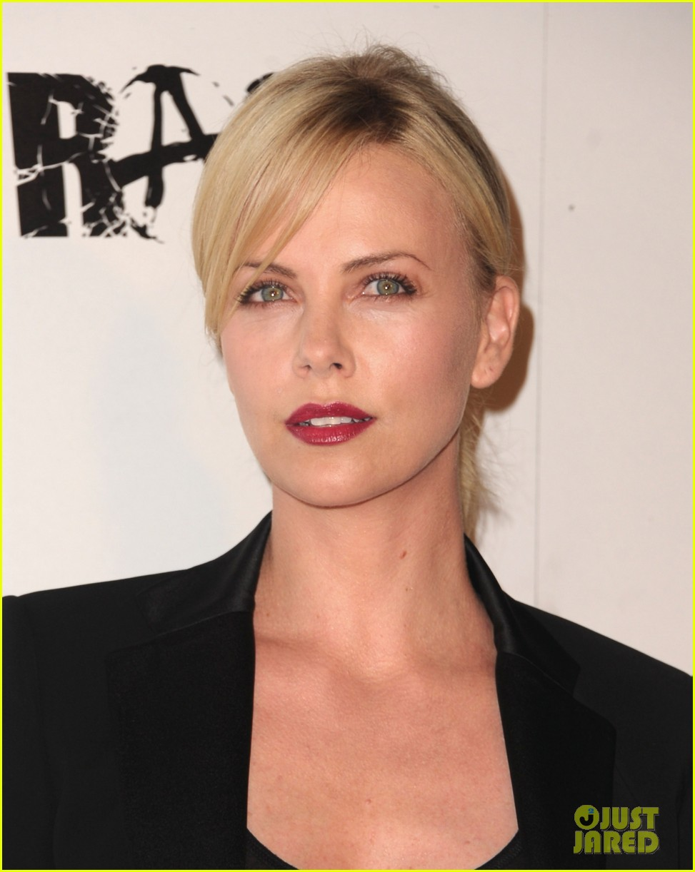 charlize theron stacy keibler rage launch party 09