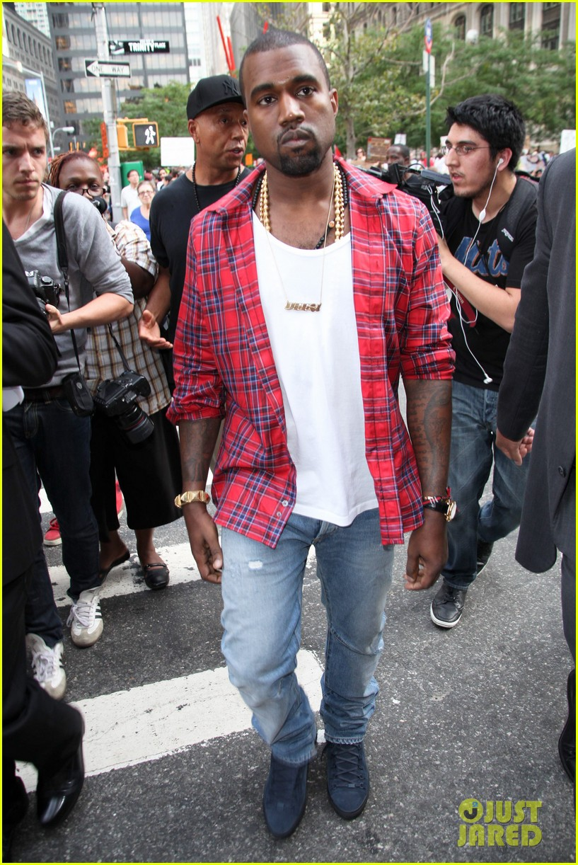 kanye west occupy wallst 01