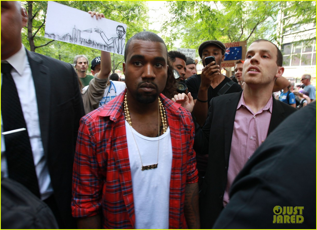 kanye west occupy wallst 062588666
