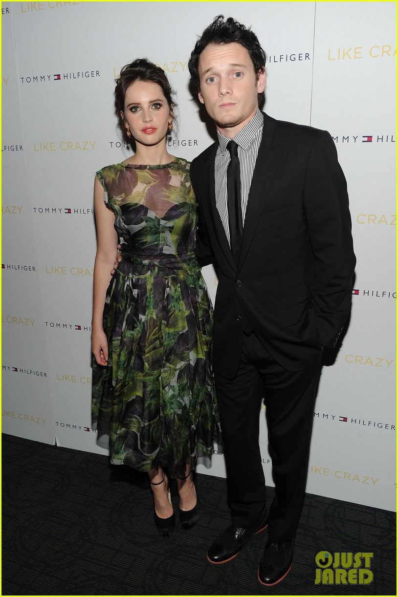 anton yelchin like crazy new york premiere with felicity jones 03