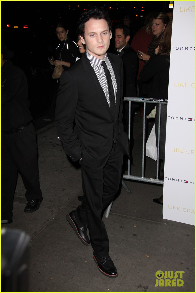 anton yelchin like crazy new york premiere with felicity jones 092591397
