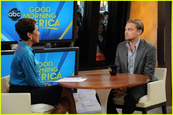 leonardo dicaprio good morning america 01