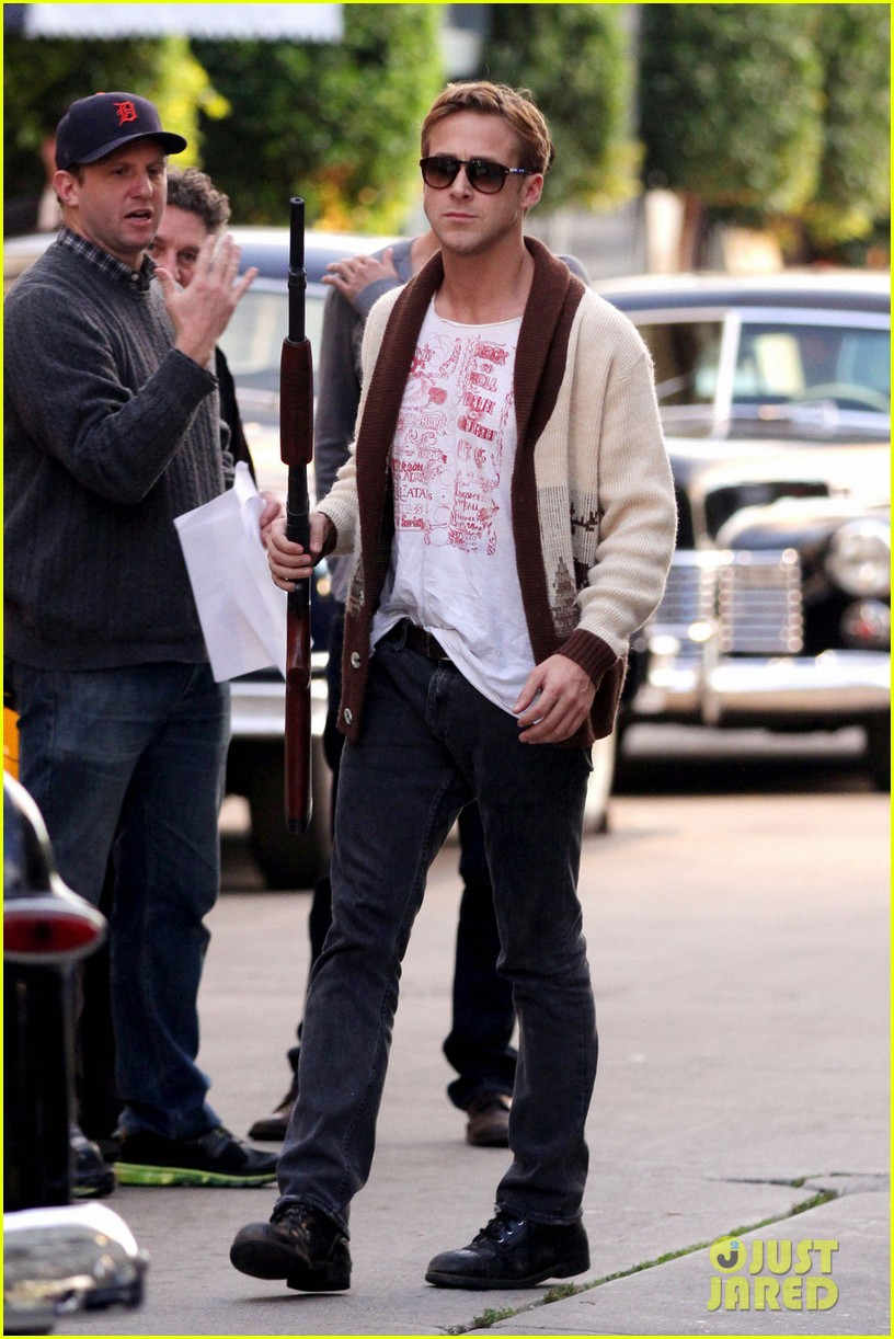 ryan gosling gangster squad rehearsal 08