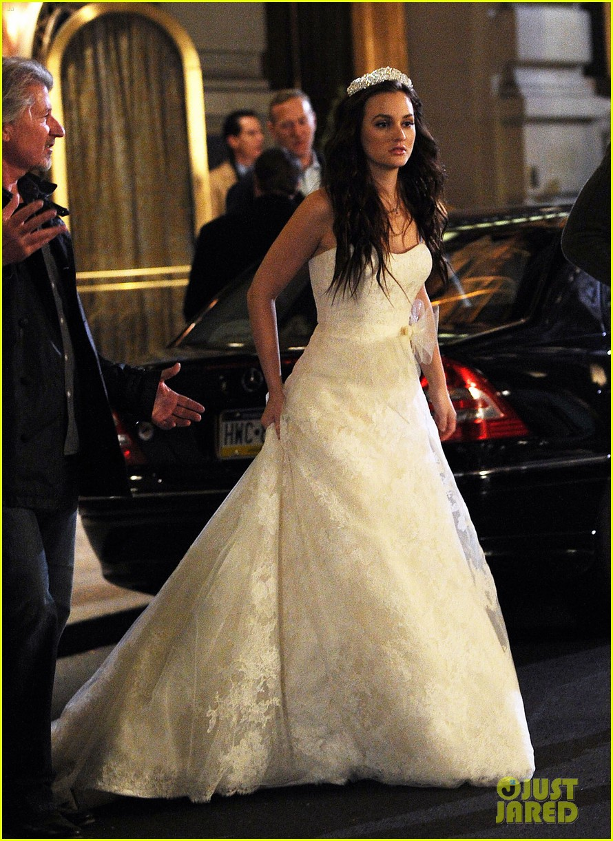 Leighton Meester Wedding On Gossip Girl Photo 2600690