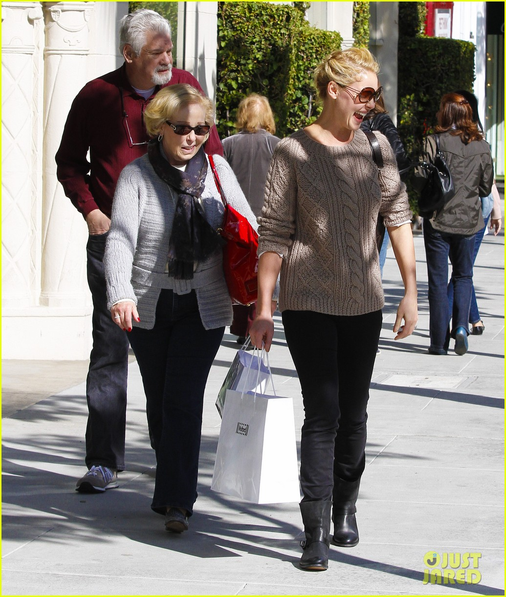 katherine heigl shopping mom dad 14