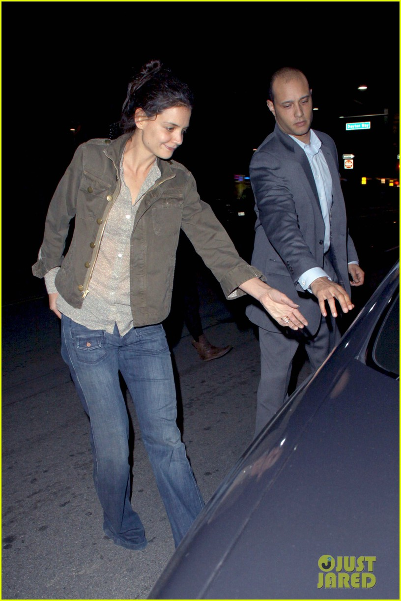 katie holmes night out friend west hollywood 05