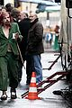 eva mendes bundles up on set of holly motors 07