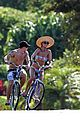 nick lachey vanessa minnillo bikini shirtless bike ride 05
