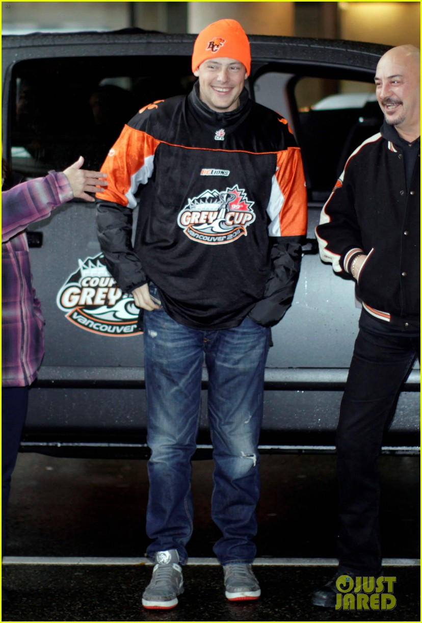 cory monteith grey cup parade grand marshal 01