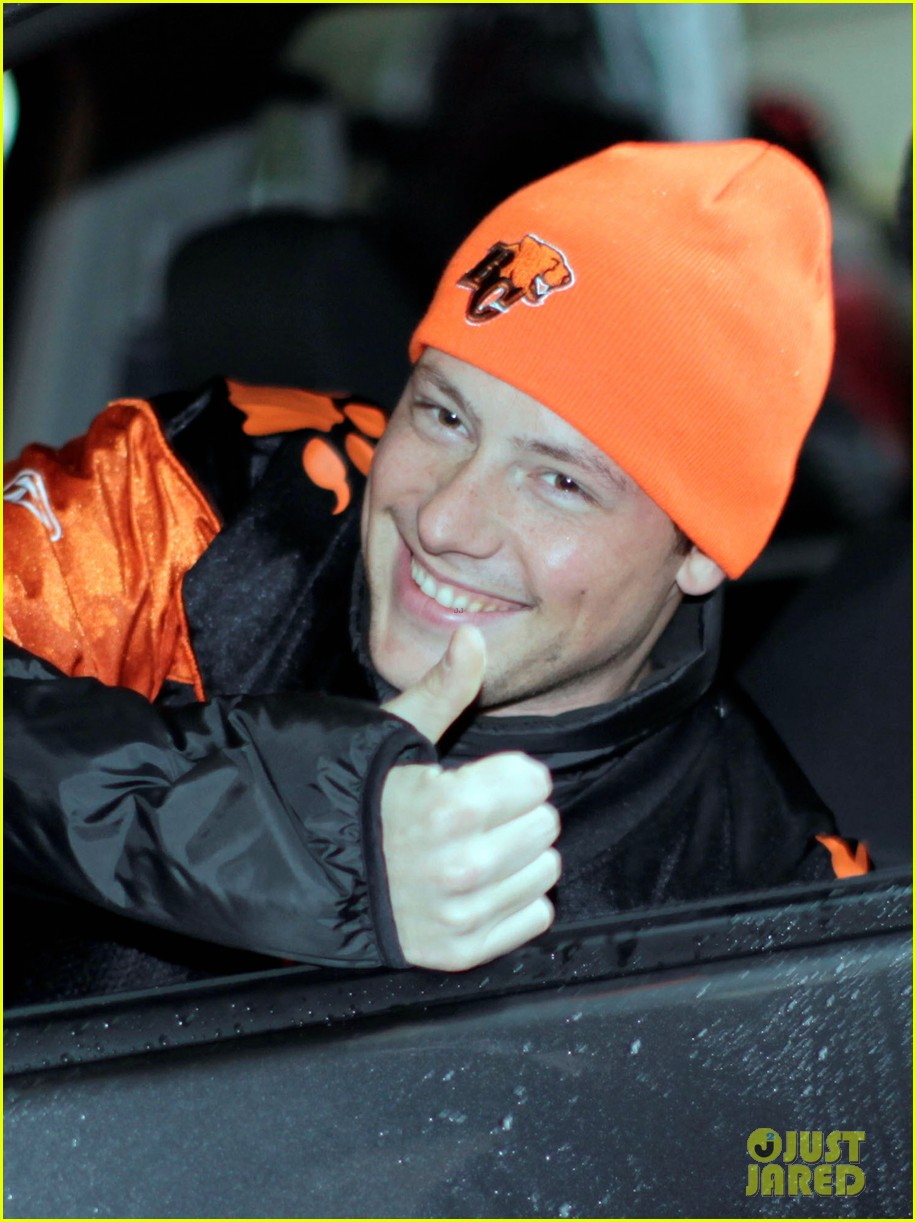 cory monteith grey cup parade grand marshal 02