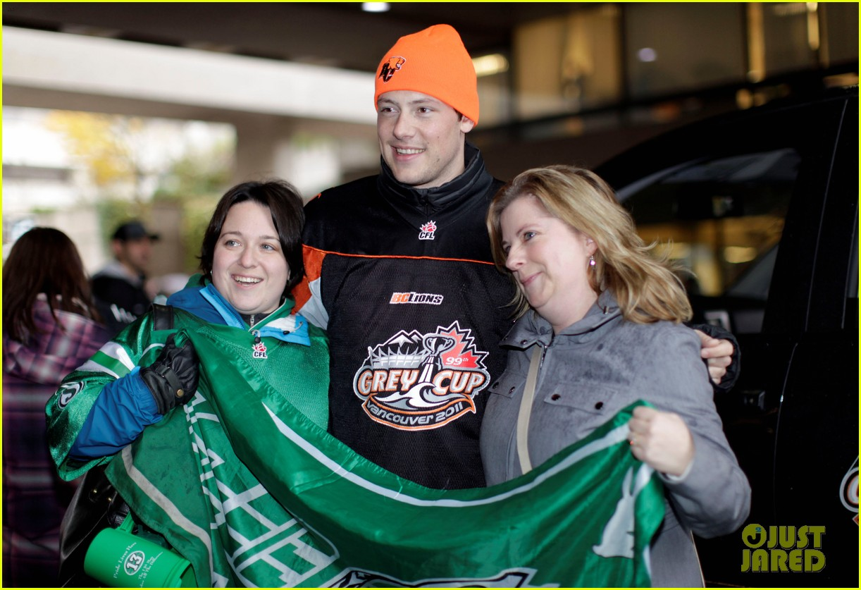 cory monteith grey cup parade grand marshal 03