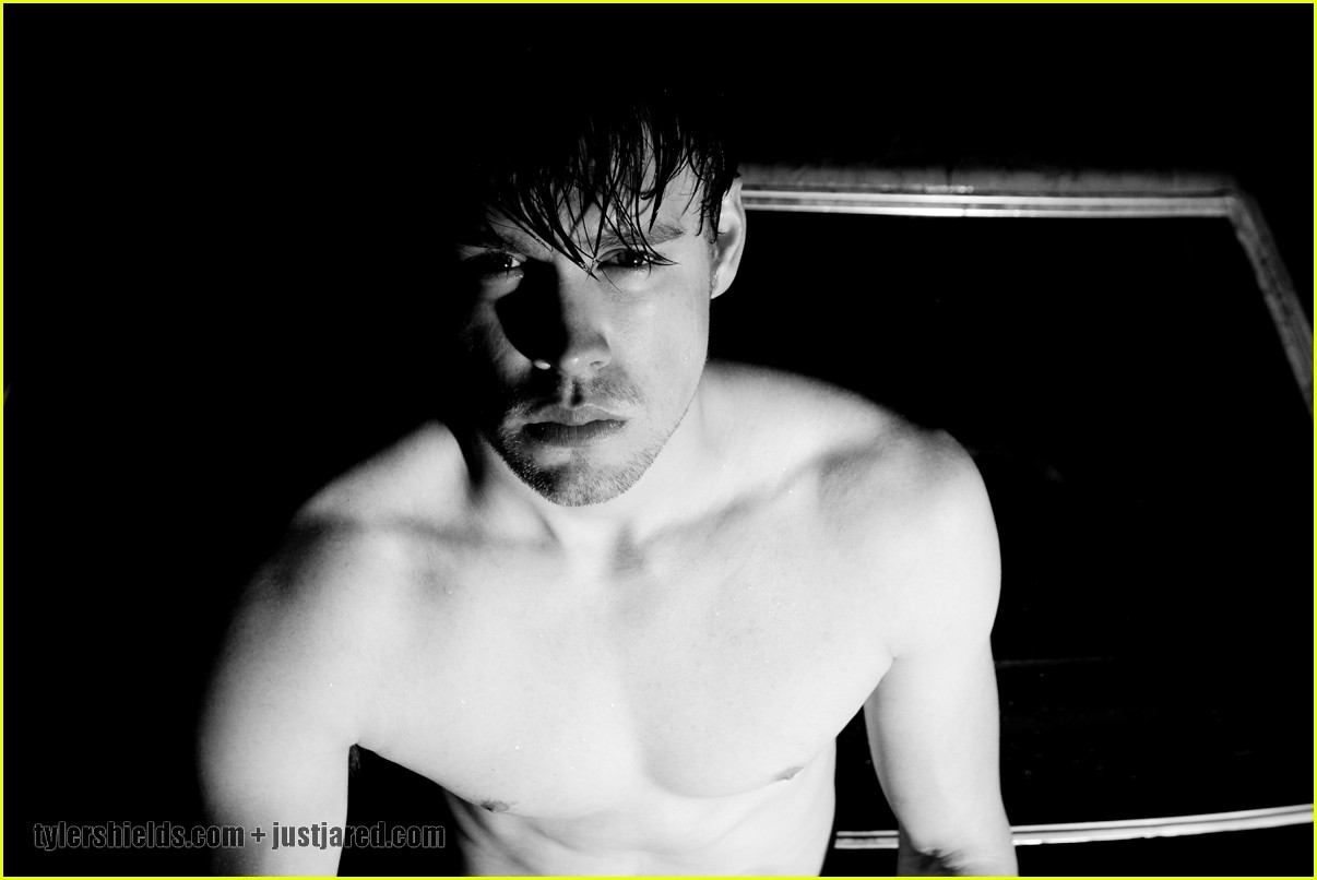 chord overstreet shirtless for tyler shields