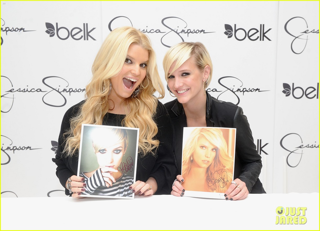 jessica simpson girls fashion collection launch with ashlee 03