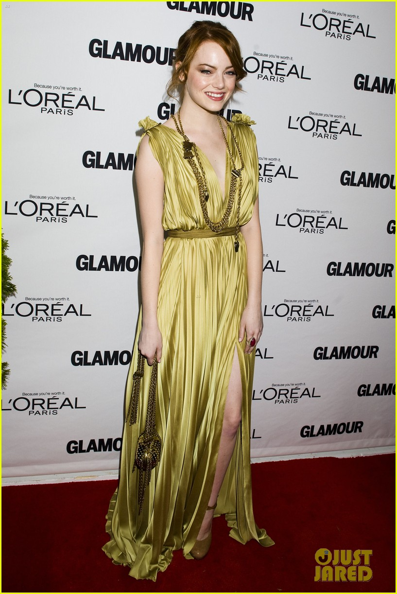 emma stone glamous awards 10