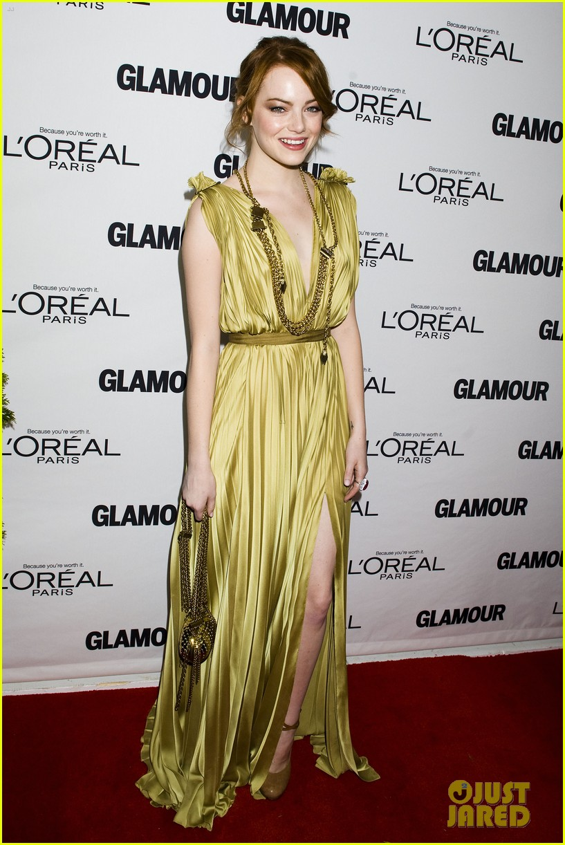 emma stone glamous awards 122597783