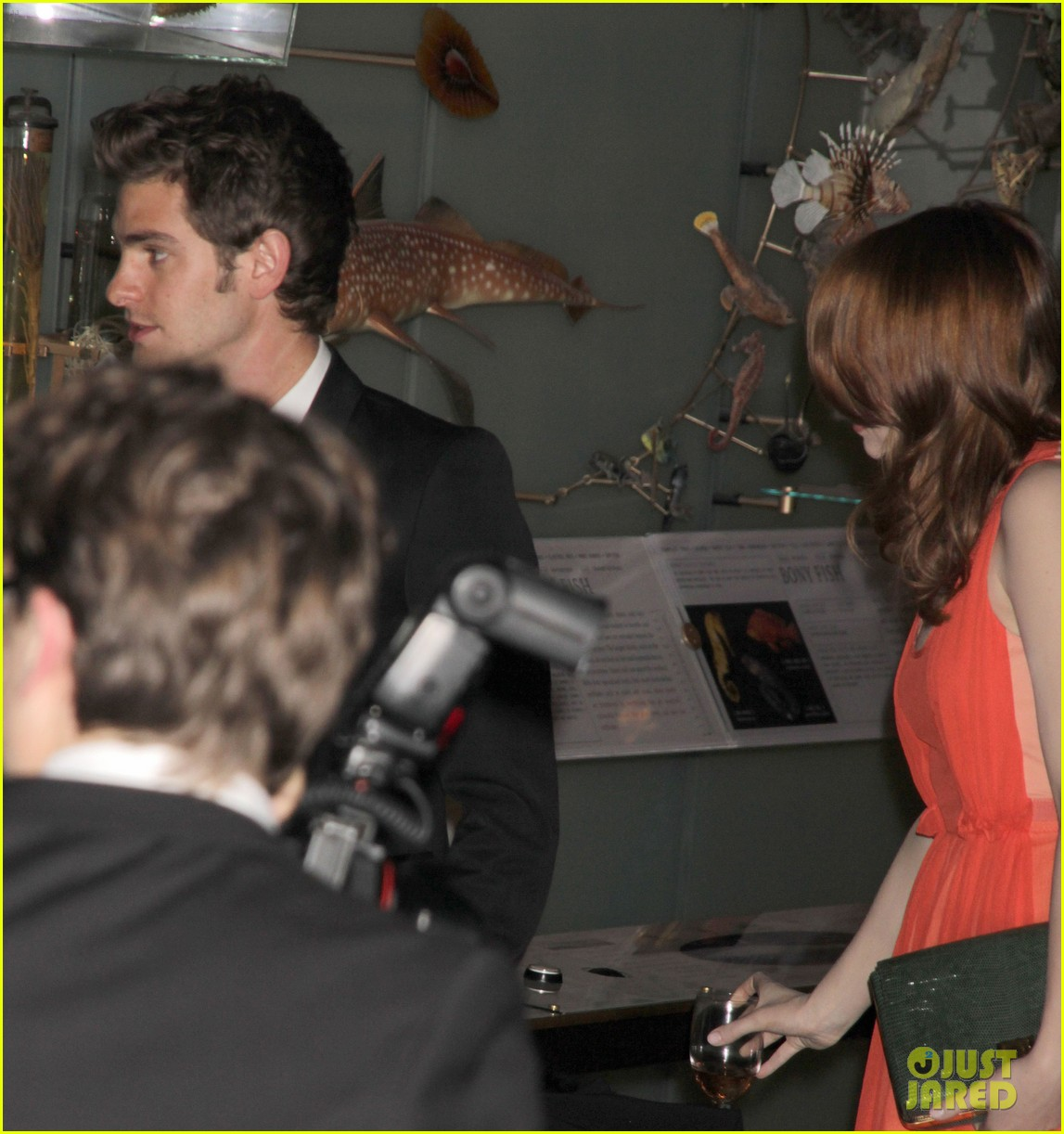 emma stone museum history andrew garfield 10