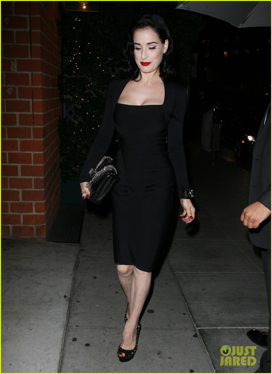 dita von teese christian louboutin launch party cutie 04
