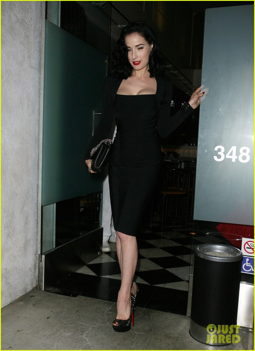 dita von teese christian louboutin launch party cutie 06