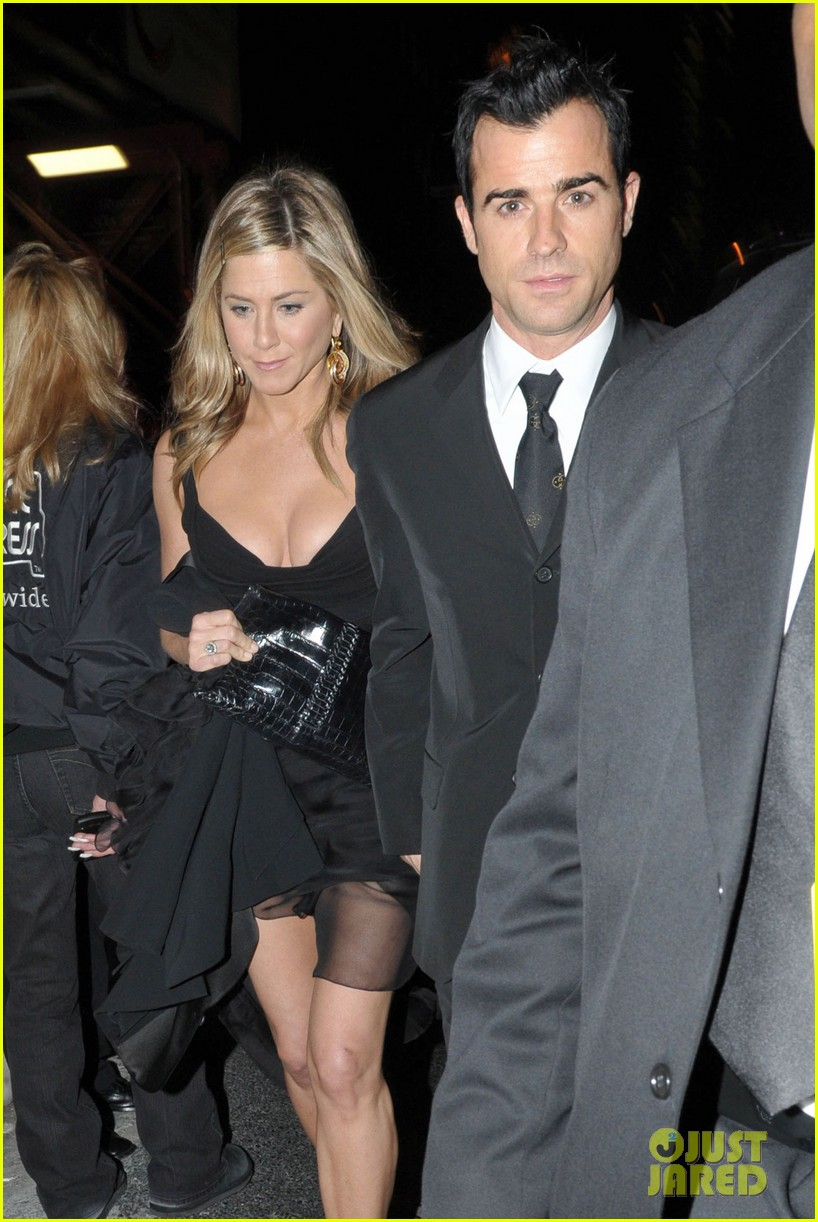 jennifer aniston justin theroux glamour party 03