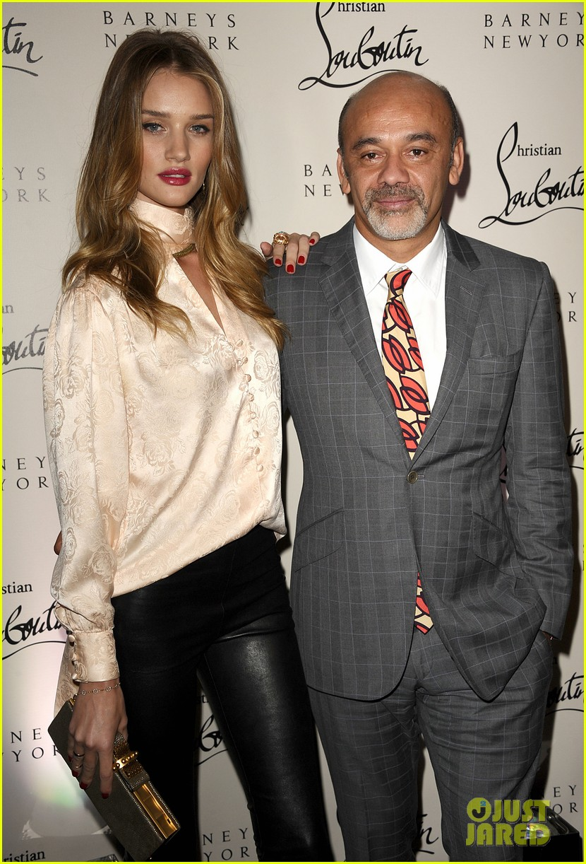rosie huntington whiteley christian louboutin launch party 02