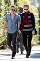 evan rachel wood jamie bell walk together 01