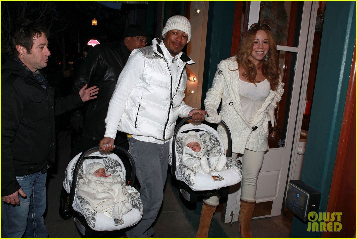 mariah carey aspen twins nick cannon 08
