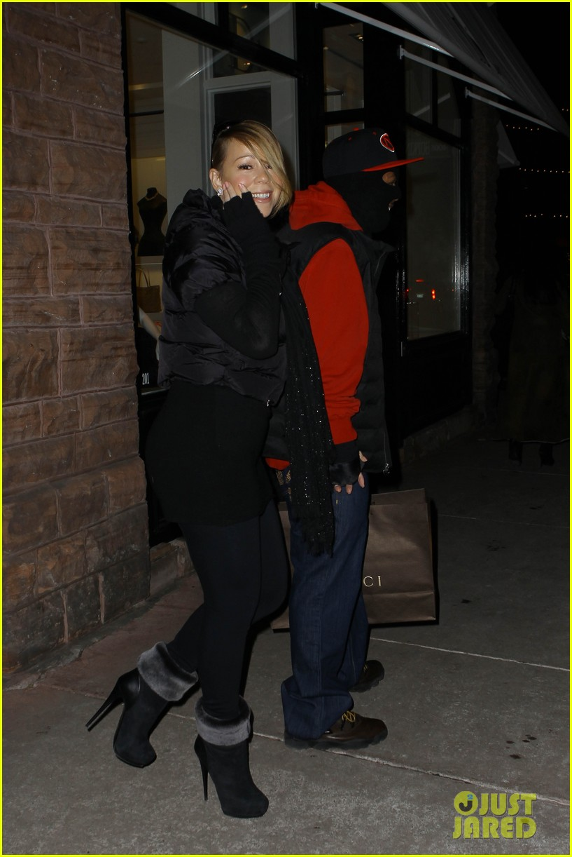 mariah carey shop aspen with nick cannon 062612112