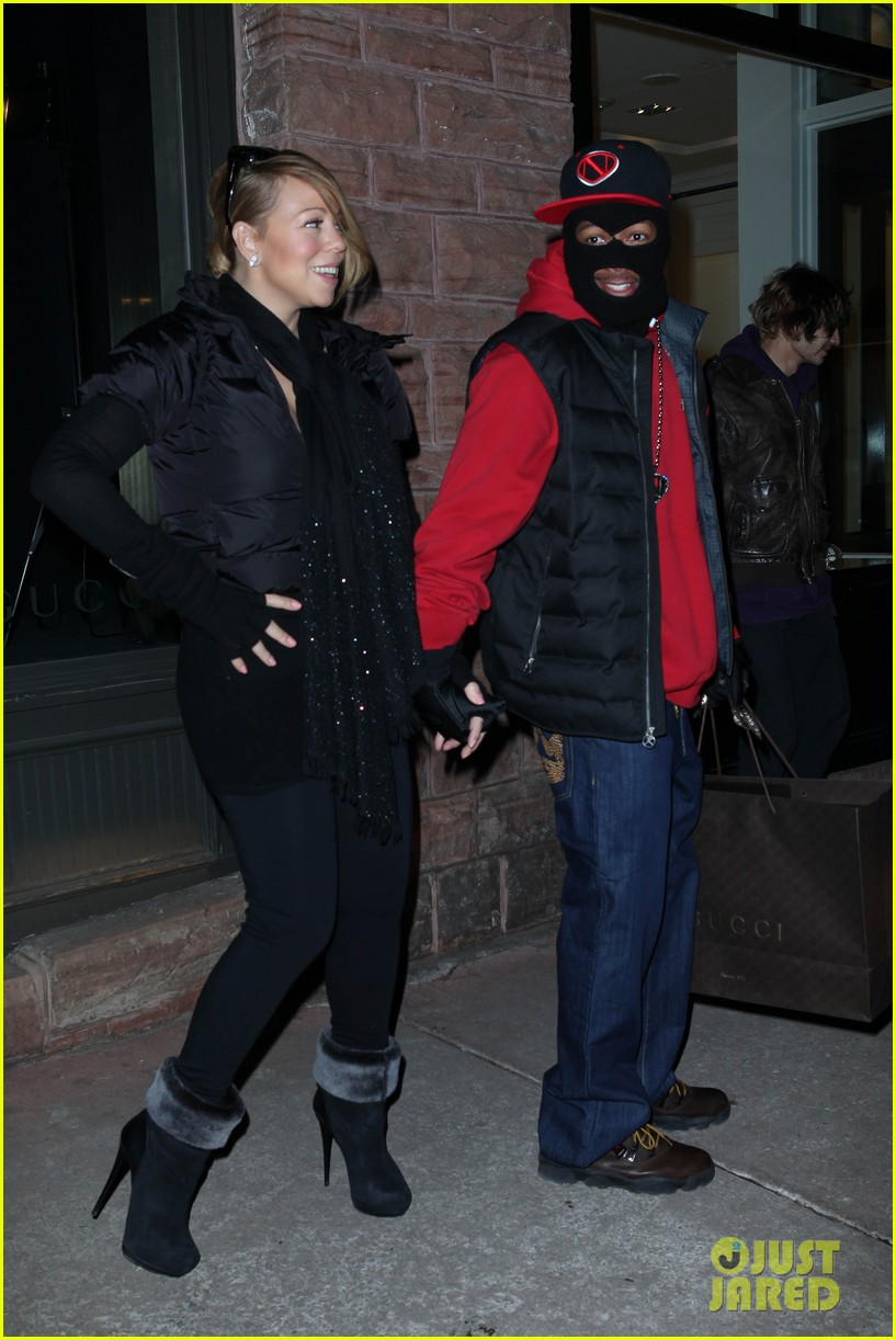 mariah carey shop aspen with nick cannon 08