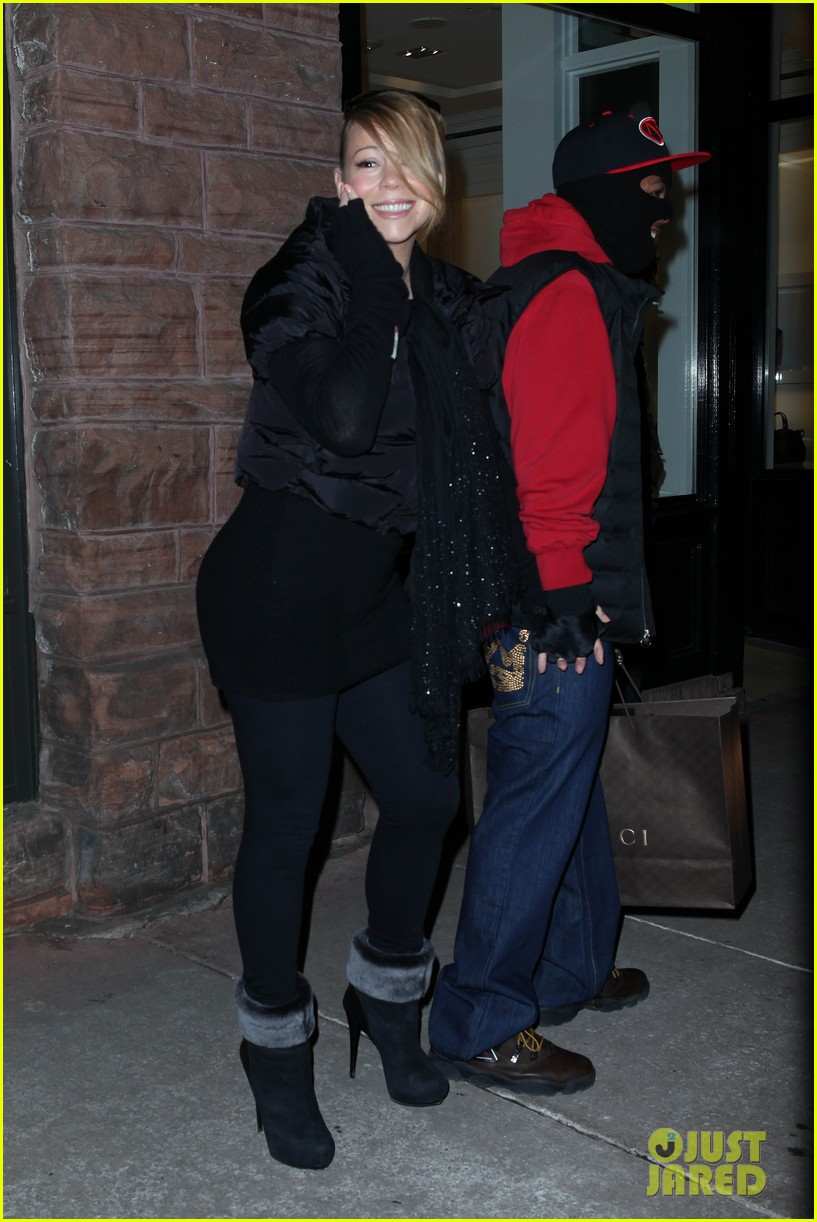 mariah carey shop aspen with nick cannon 09