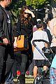 david beckham baby harper out stroller 03