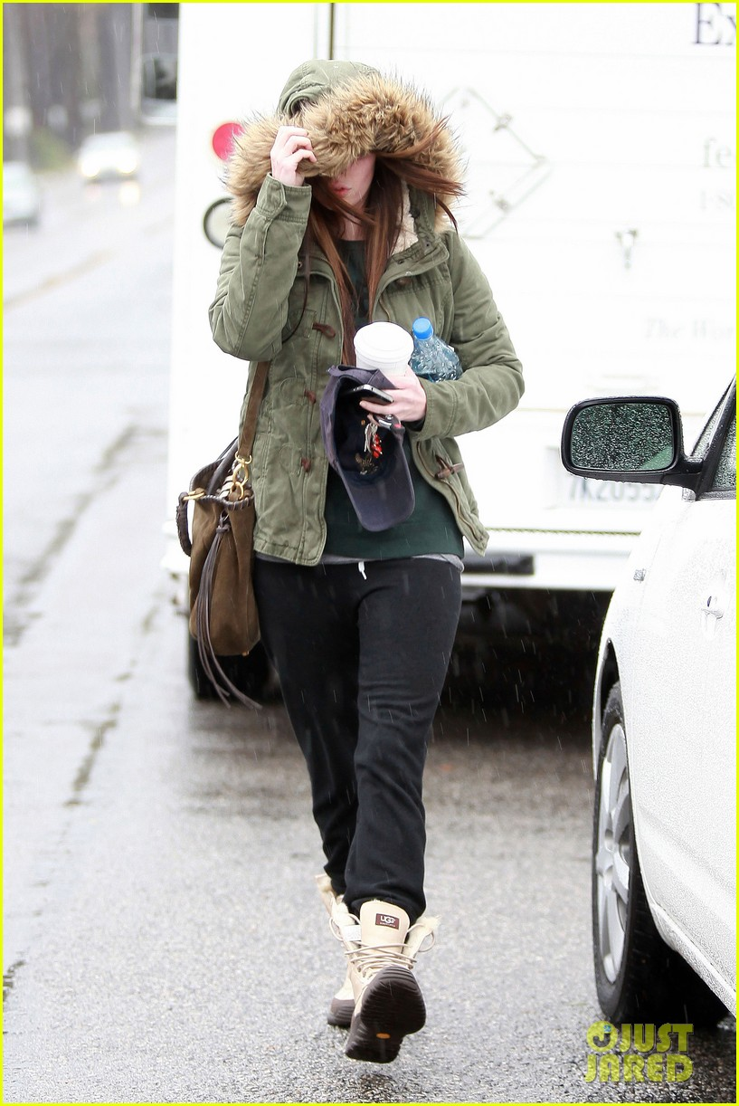 megan fox rainy salon day 11