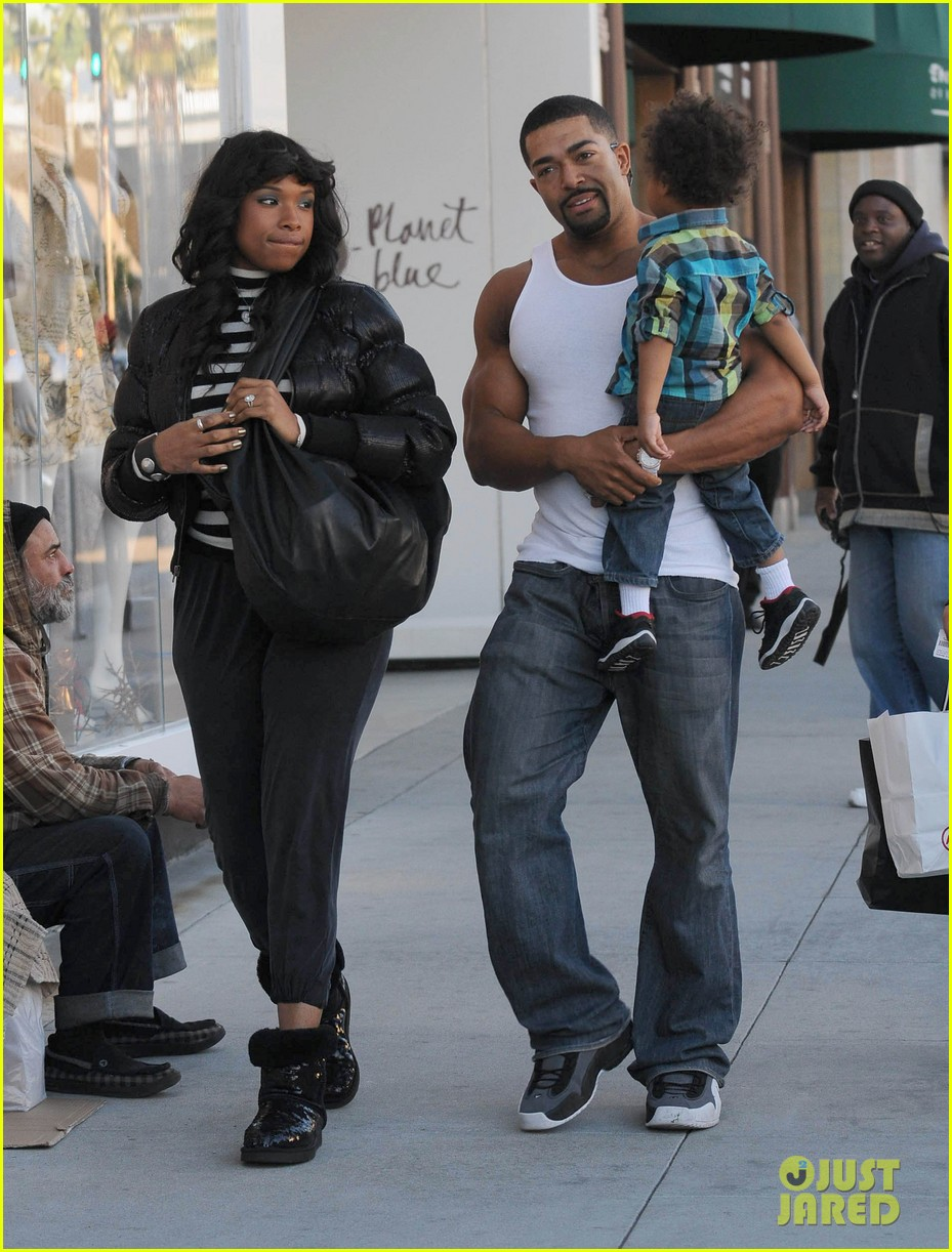 jennifer hudson david otunga wait stoplight 02