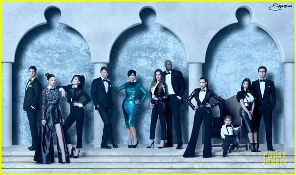 kardashian christmas card 01
