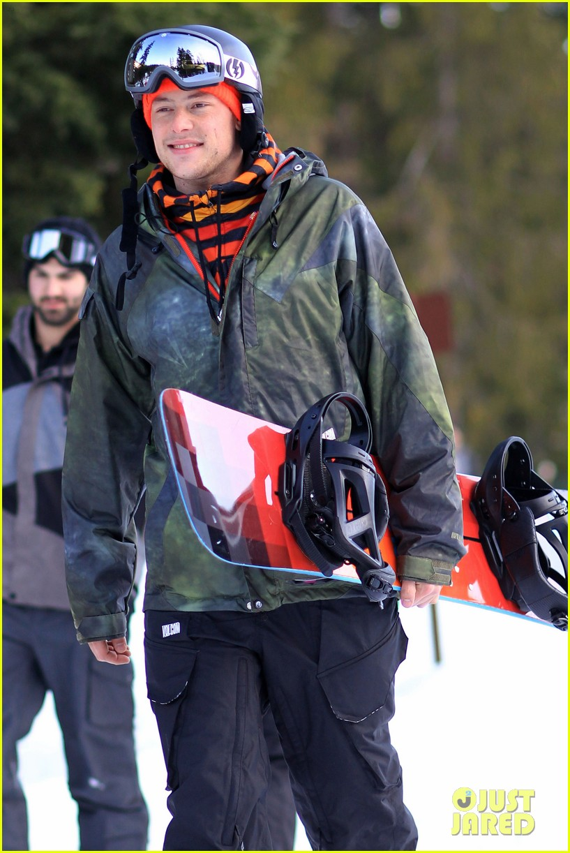 cory monteith snowboarding vancouver 06