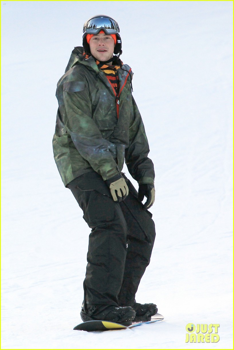 cory monteith snowboarding vancouver 11