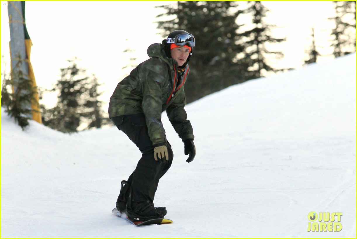 cory monteith snowboarding vancouver 13