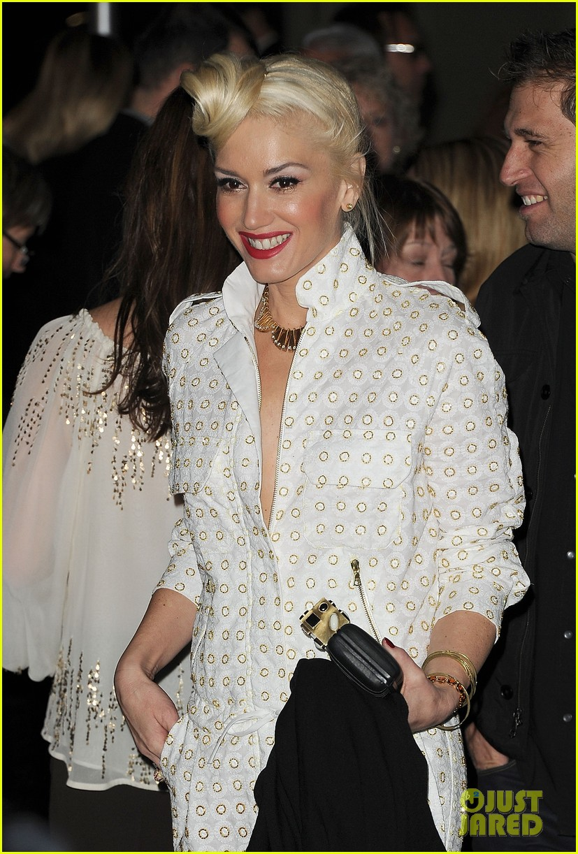 gwen stefani blood honey la premiere 09