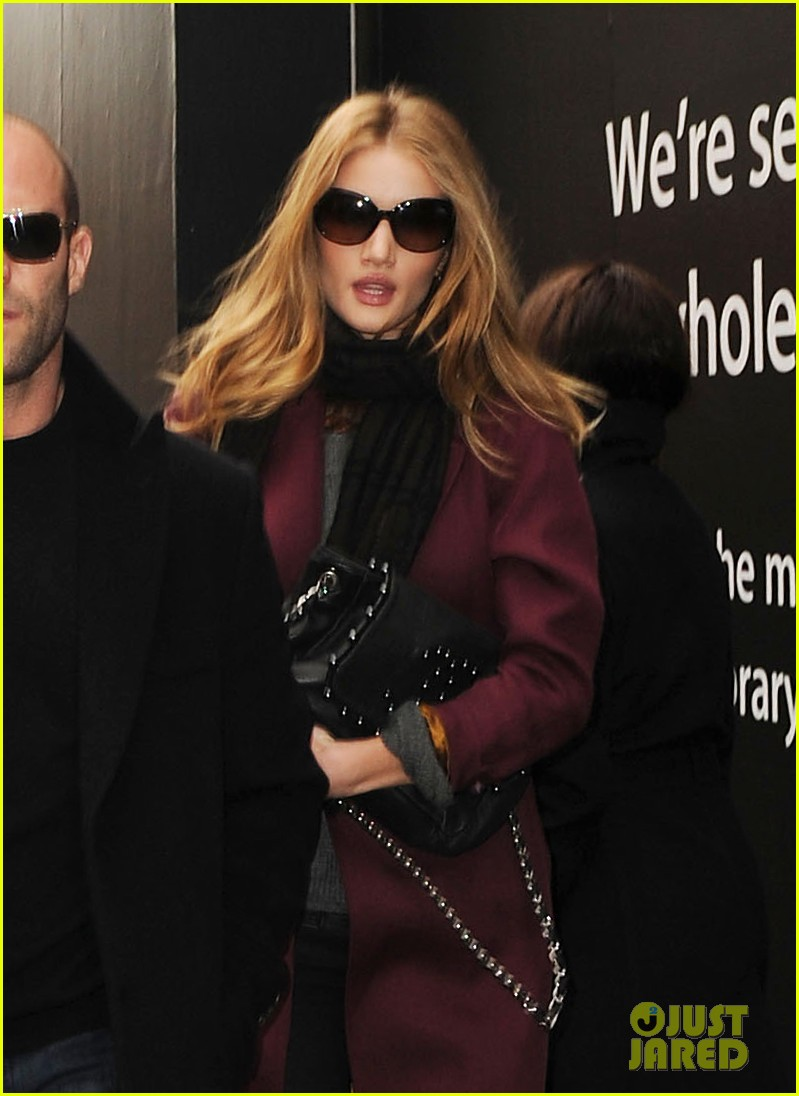 rosie huntington whiteley jason statham out about 01