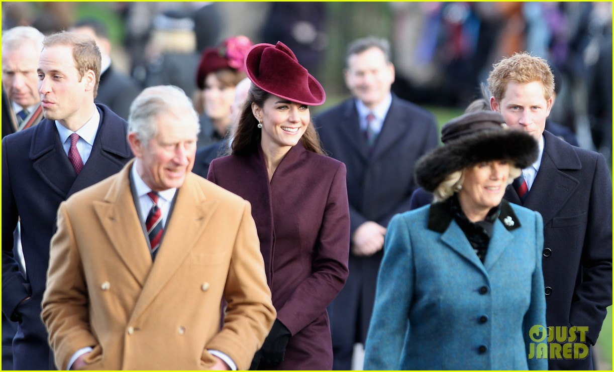 prince william kate christmas day service 27