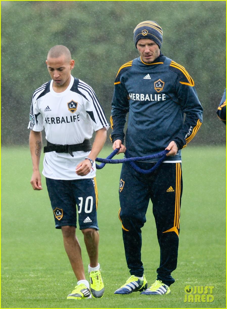 david beckham soccer practice 05