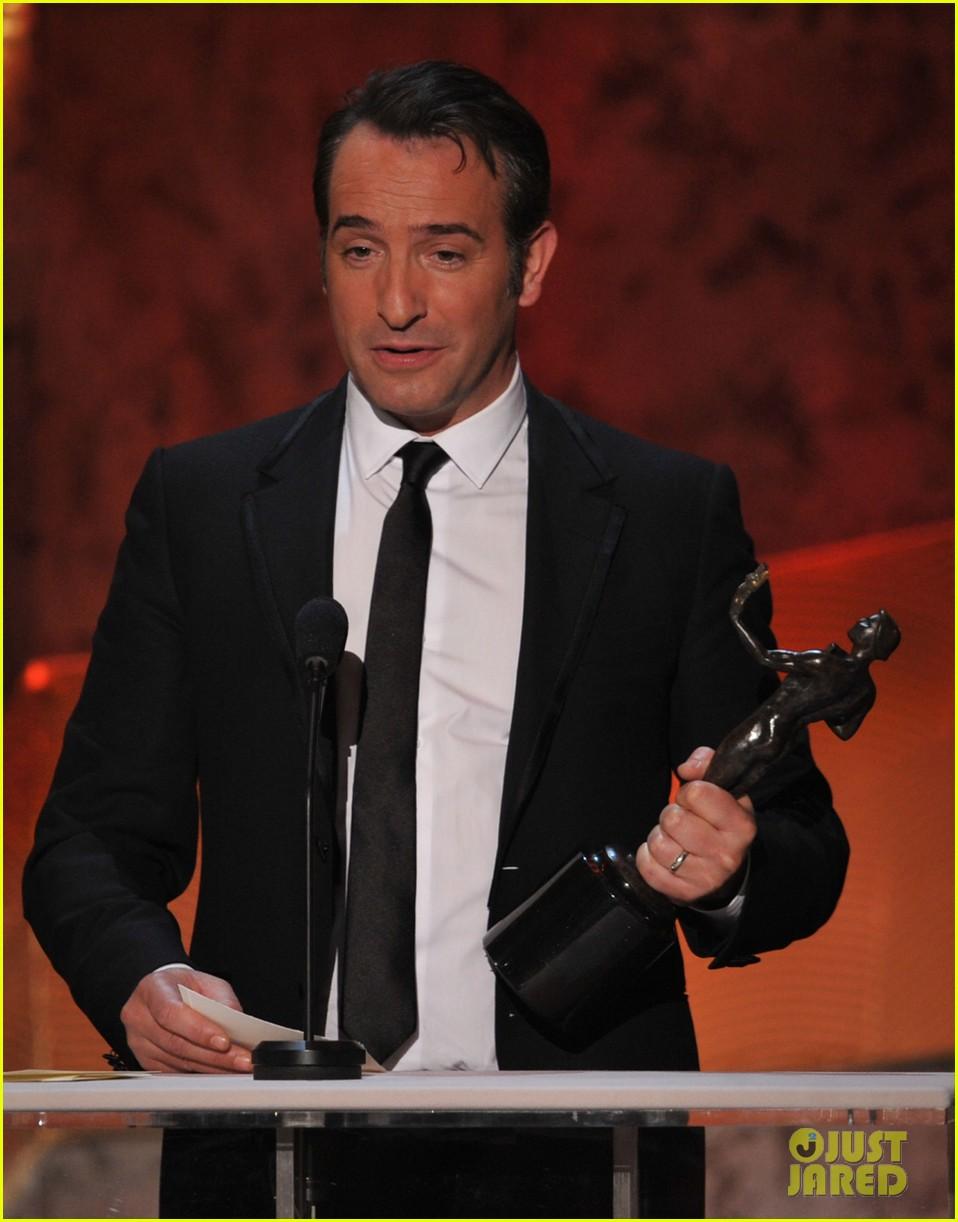 berenice bejo jean dujardin 2012 sag awards 03