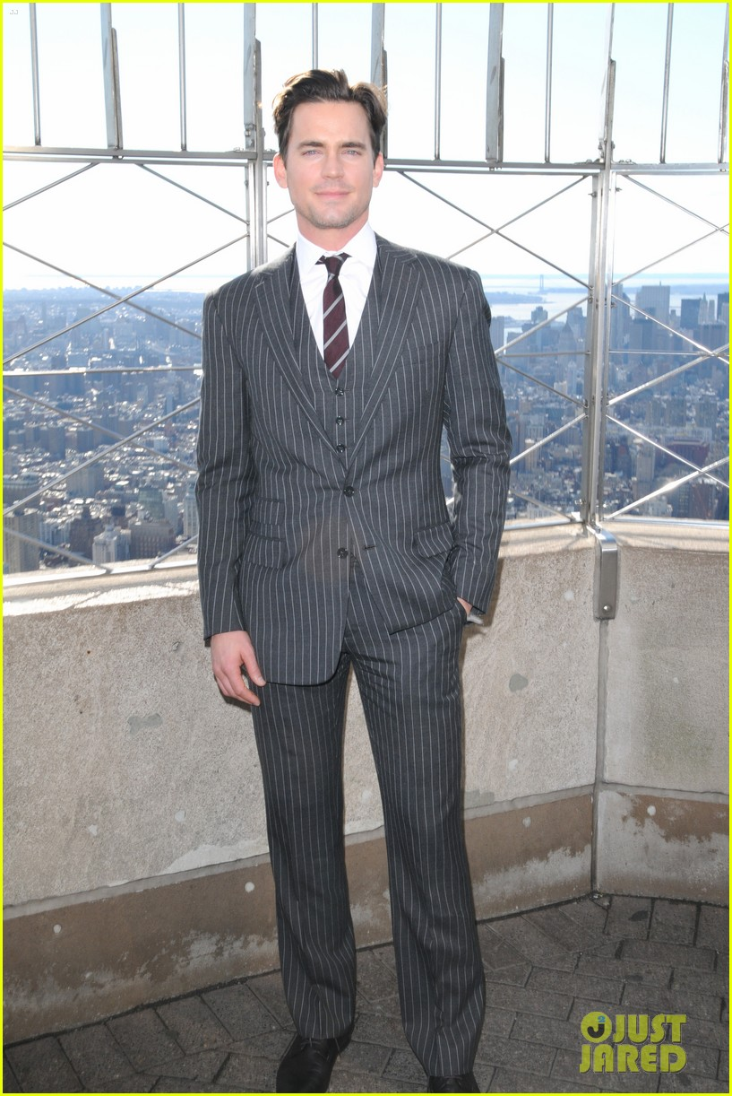 matt bomer empire state building 052619427