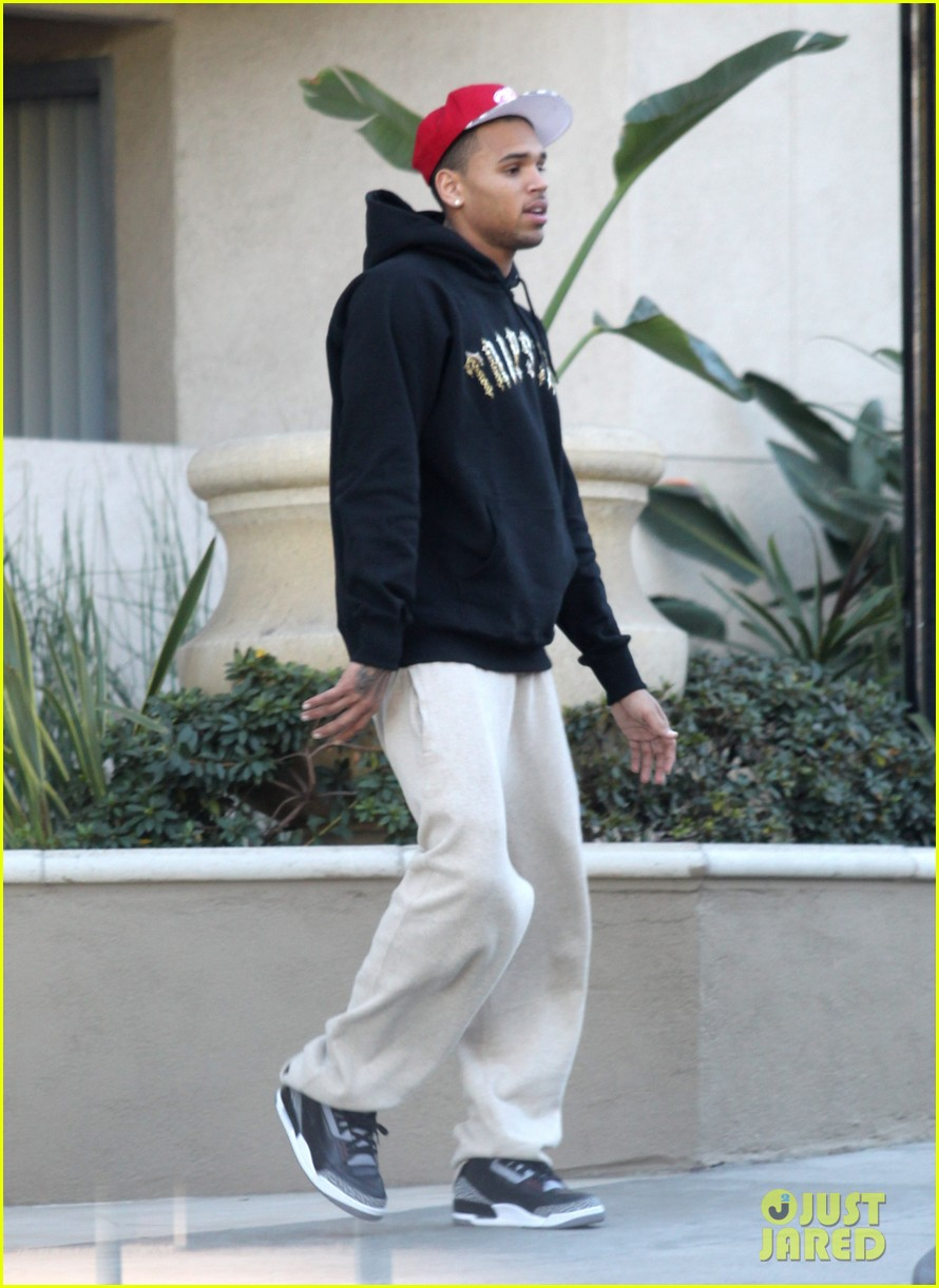 chris brown sweatpants 012614718