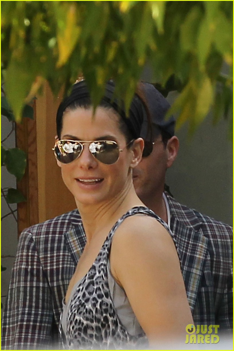 sandra bullock mystery man private party 15