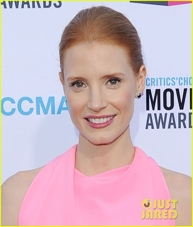 jessica chastain critics choice awards 2012 05