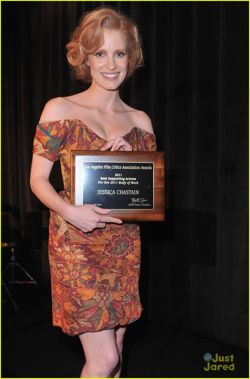 jessica chastain critics award 14